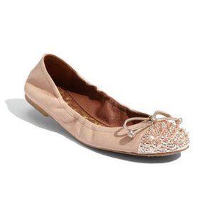 Sam Edelman Beatrix Ballet Flat Evening Rose Spike